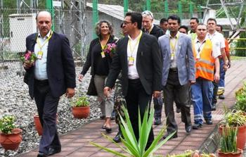 High level meetings in Nepal