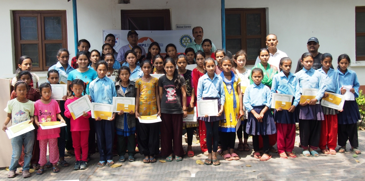 Scholarship to Girl Students of Dolakha and Ramechhap