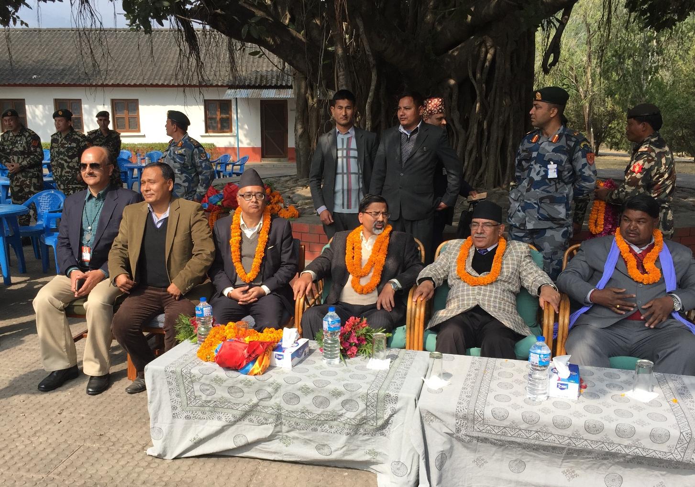 Inauguration of Khimti-Dhalkebar 220kV Transmission Line